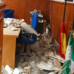GRA Court Room Ceiling Collapse