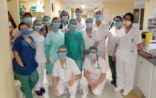 GRA Hospital Virgen Nieves staff