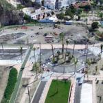 SAL Aerial View on Centro de Salud Plot