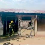 SPN Chicken Farm Fire in Cuenca