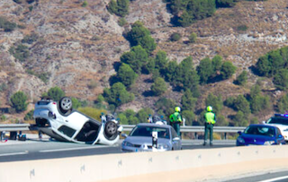 COS A-44 Road Accident 10SP21